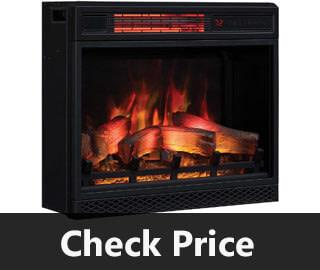 Classic Flame 3D Infrared Quartz Electric Fireplace Insert