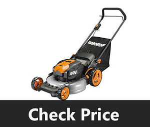 WORX WG751 Lawn Mower review
