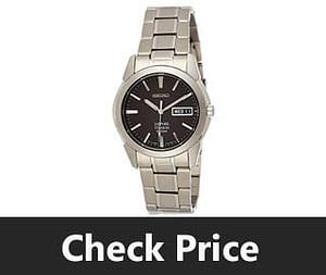 Seiko Mens SGG731 Titanium Silver Dial Watch review