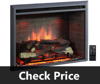 Pura Flame Western Electric Fireplace Insert review