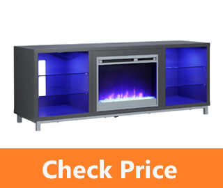 Ameriwood Home Lumina Fireplace Stand review
