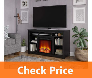Ameriwood Home Edgewood Fireplace review