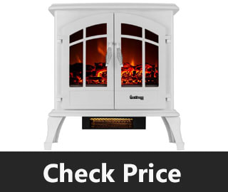 E Flame USA Jasper Freestanding Electric Fireplace Stove