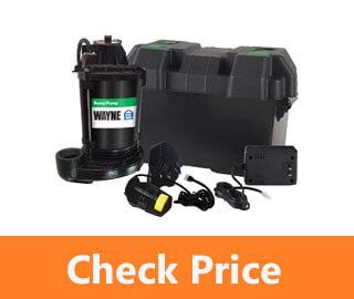 wayne esp25 12 volt battery backup for sump pump