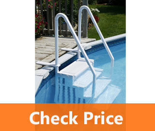 Above Ground Swimming Pool Step to Deck review