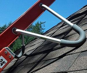 ladder gutter guard