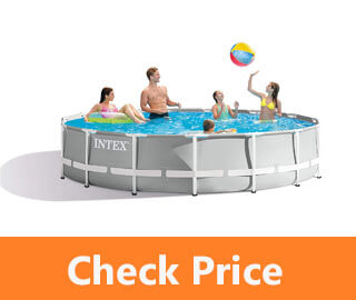 Intex 15 Foot x 42 Inch Prism Frame above Ground Swimming Pool