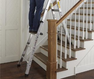 ladder for stairs