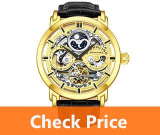 Stuhrling Skeleton watch