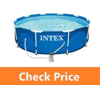 Intex Metal Frame Pool Set 10-Feet x 30-Inch