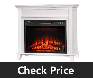 VIVOHOME Wide Electric Fireplace review