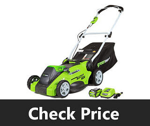 Green Works 16 Inch 40V Cordless Lawn